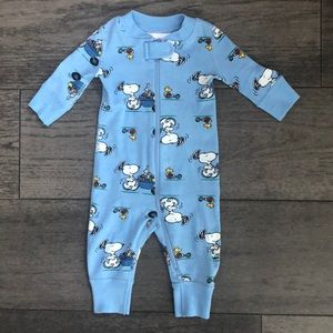 Hanna Andersson Peanuts edition infant's pijamas